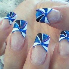 Simple nail art designs 52