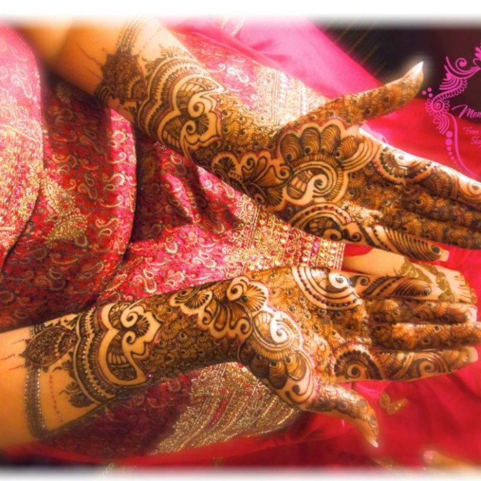 latest mehandi designs 2014 01