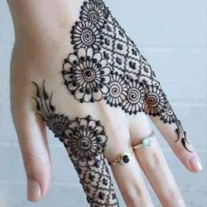 latest mehandi designs 2014 14
