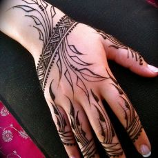 latest mehandi designs 2014 24