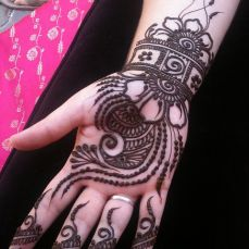 latest mehandi designs 2014 27