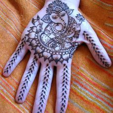 latest mehandi designs 2014 29