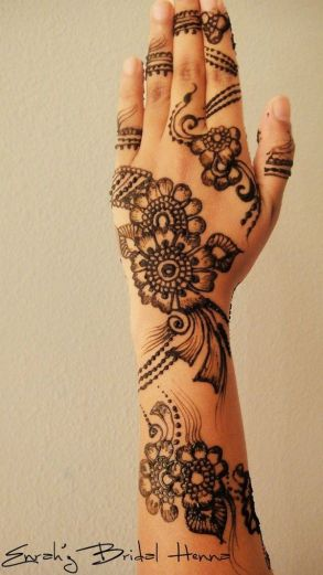 latest mehandi designs 2014 31