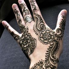 latest mehandi designs 2014 43