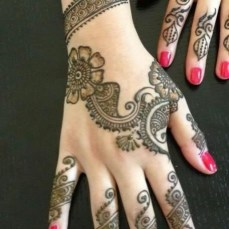 latest mehandi designs 2014 50