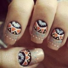 nail art designs to wear on navratri 02