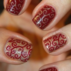 nail art designs to wear on navratri 08