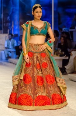 Bridal Lehengas Fall Winter 2014 06