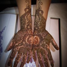 Mehndi design by Karuna 04