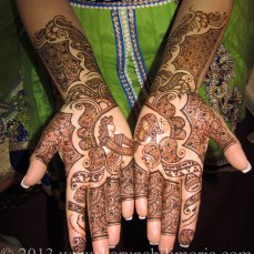 Mehndi design by Karuna 07