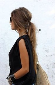 simple hairstyles for long hair 12