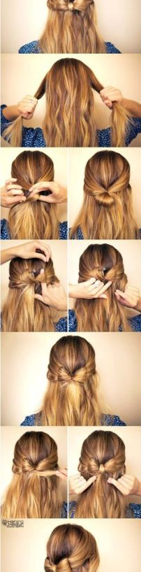 easy hairstyles for long hair 06