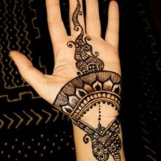mehndi design for the summer bride 10