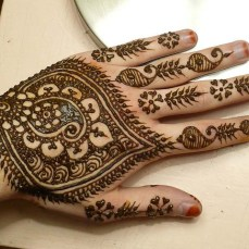 mehndi design for the summer bride 18