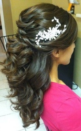 Wedding hairstyles for Indian wedding 01