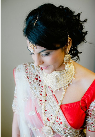 Indian bridal hairstyles 86