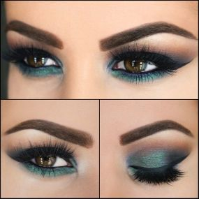 Smokey eye makeup colors 07