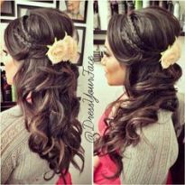 Indian wedding hairstyles 18