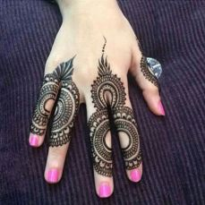 Simple mehndi designs 18