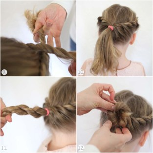 Indian hairstyles step by step 03