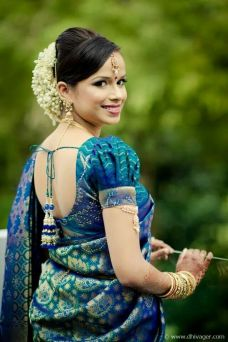 Traditional Indian wedding hairstyles 22