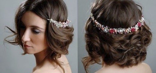 Indian wedding hairstyles for short hair 06