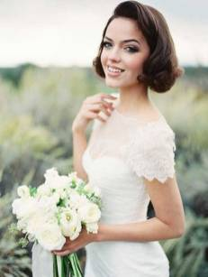 Indian wedding hairstyles for short hair 13