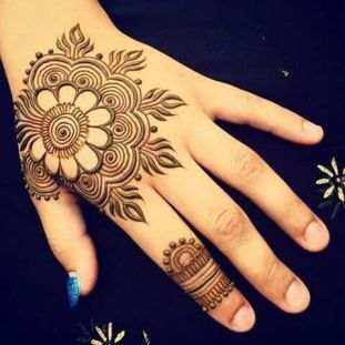 Arabic mehndi designs 53