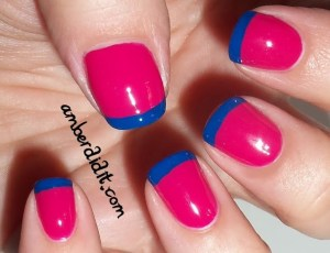 French nail art 06
