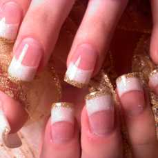 French nail art 13