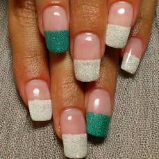 French nail art 14