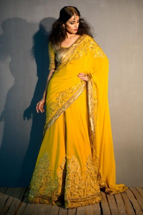 Designer saree trends 15