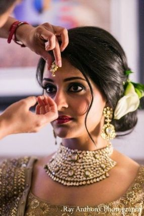 Indian bridal hairstyles 138
