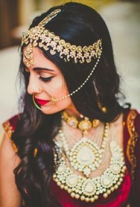 Indian bridal hairstyles 139