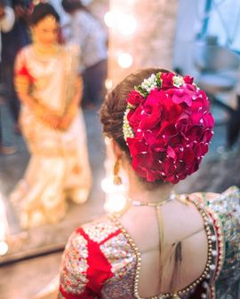 Indian bridal hairstyles 147