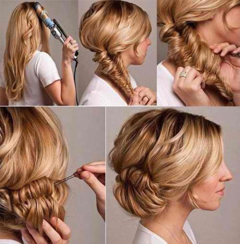 Updo hairstyles 50