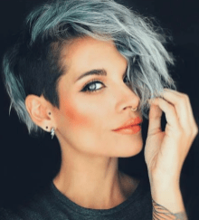 short hairstyles for girls 40