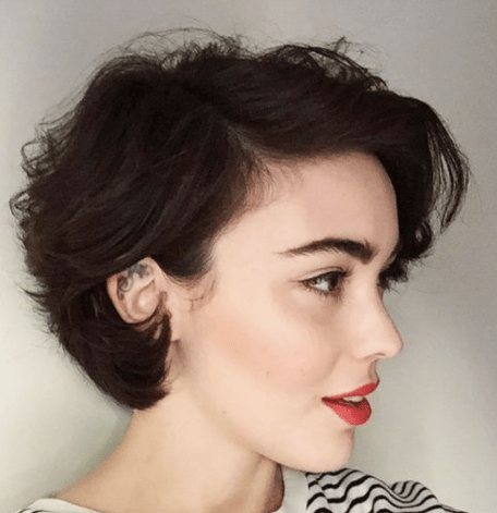 short hairstyles for girls 50