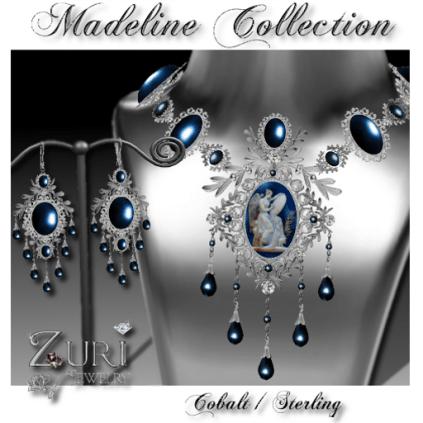 Madeline Set-Cobalt-Sterling
