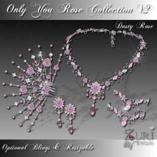 Only You Rose Collection V2-Dusty Rose