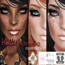 Hollie Mesh Head Vendor Color Freckles