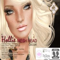 Hollie Mesh Head Vendor Cream