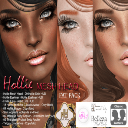 Hollie Mesh Head Vendor Fat Pack