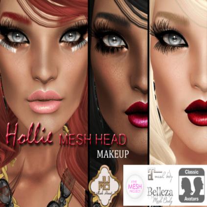 Hollie Mesh Head Vendor Makeup
