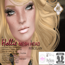Hollie Mesh Head Vendor Porcelain