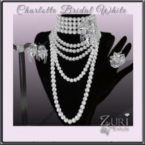 Charlotte Bridal White Jewelry Collection