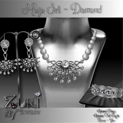Zuri Rayna - Maija Set Diamond