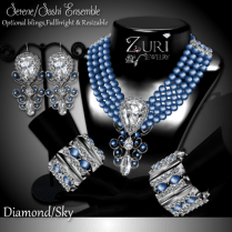 Serene Sashi Dangle - Diamond_Sky