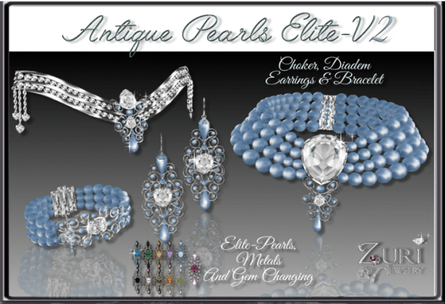 Zuri Rayna- Antique Pearls Elite V2 Collection TransferPIC