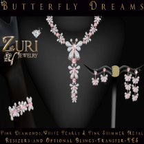 Butterfly Dreams Pink Diamond Collection